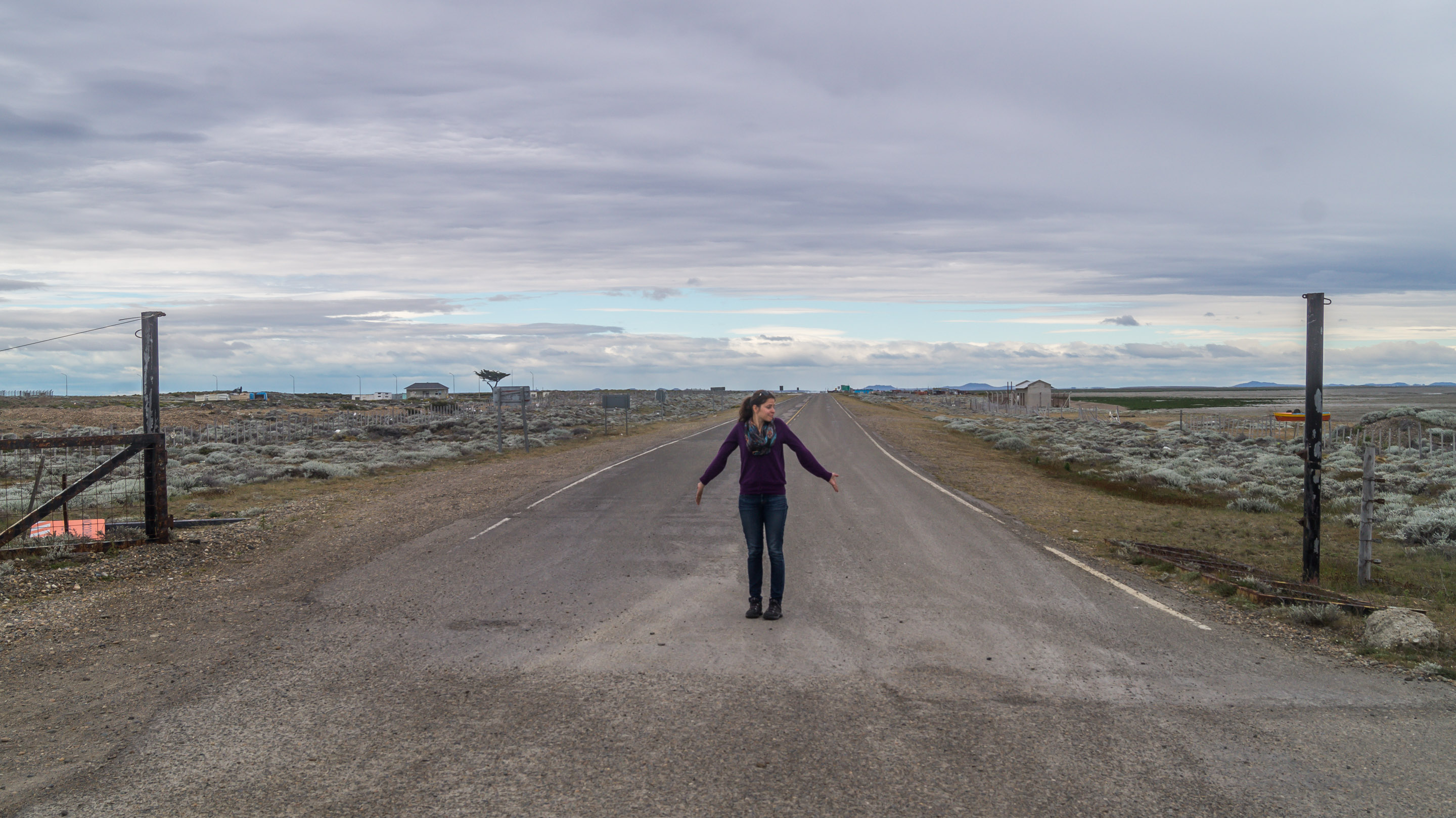 Ruta40 End Beginning Rio Gallegos