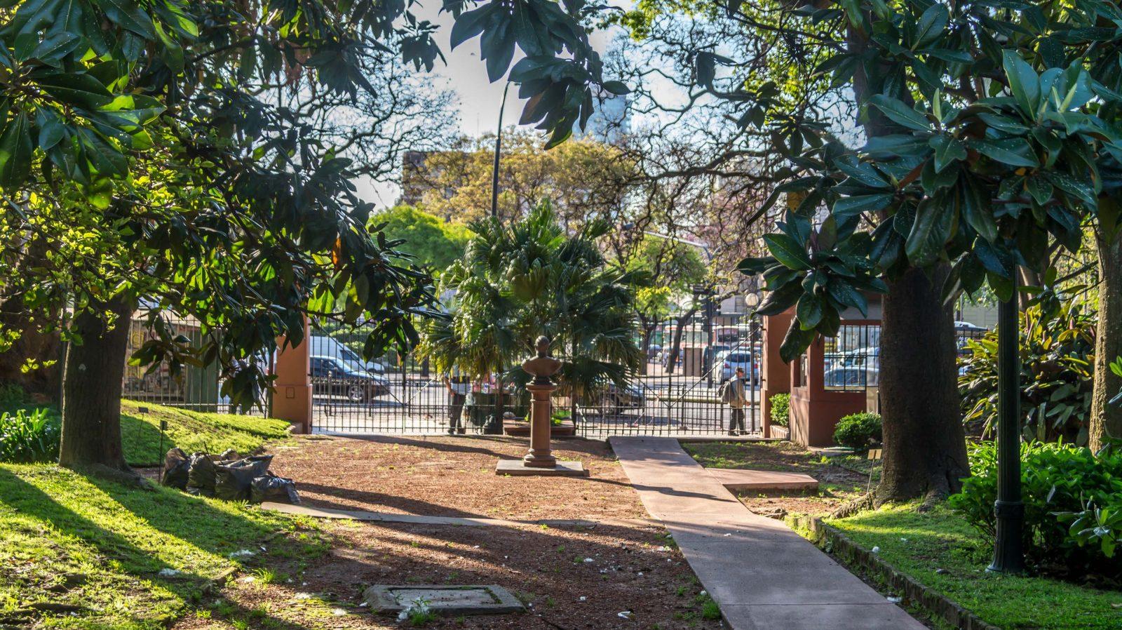 Buenos Aires Botanical Garden Jardin Botanico Podr