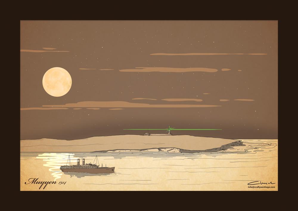 Ilustrowana podróż Witkacego w tropiki - odcinek czwarty - Latarnia morska