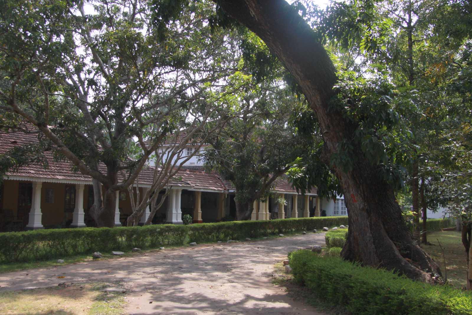 Hotel, w którym Witkacy zatrzymał się w Anuradhapurze