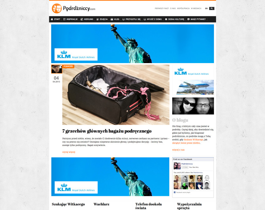 Alternatywny wygląd bloga
