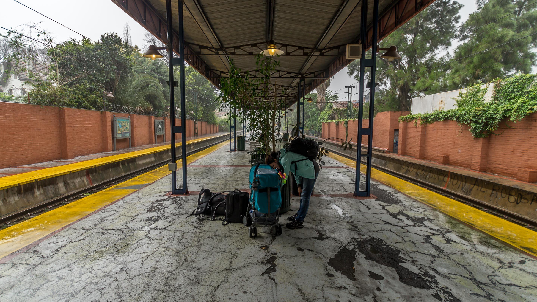 Teraz czekamy na kolejny pociąg