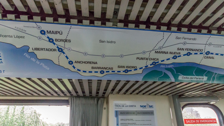 Trasa Tren de la Costa