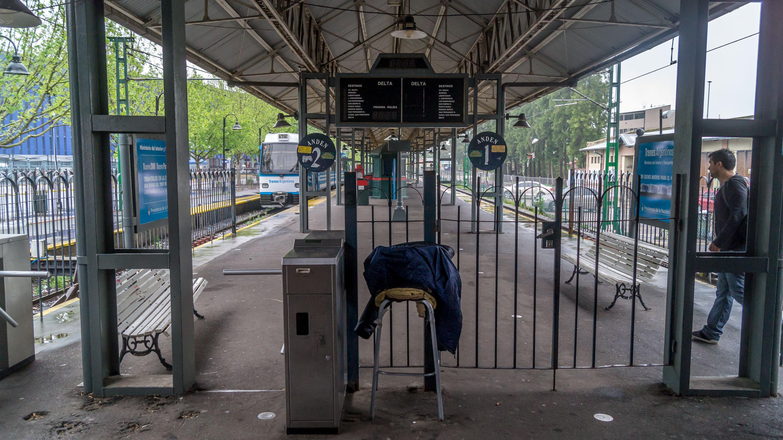Stacja Delta w Tigre