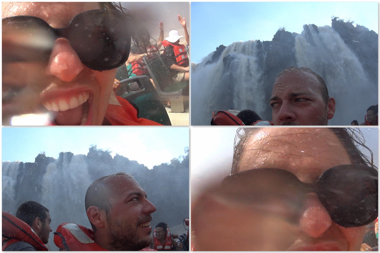 Ania i Jakub Iguazu wodospady podrozniccy