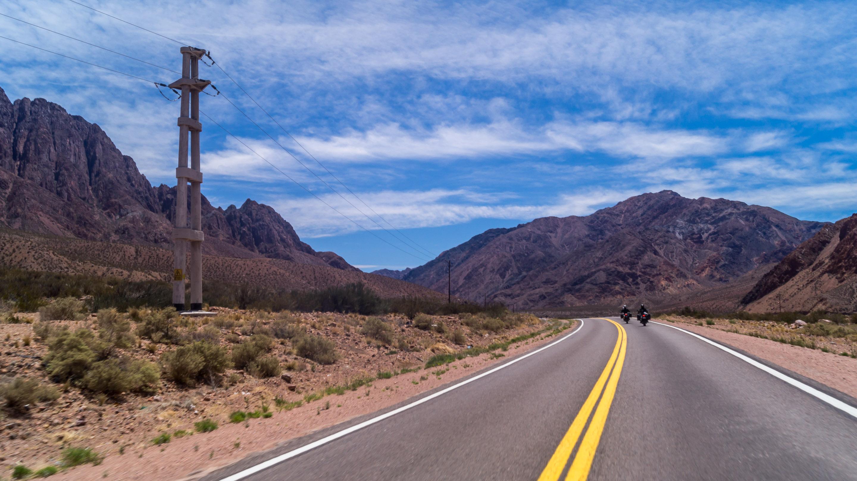 Droga przez Andy z Mendozy do Chile