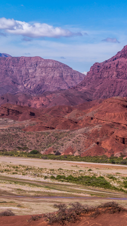 Quebrada de las Conchas, Cafayate, Ruta 40