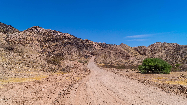 Droga z Cachi do Cafayate, Ruta 40, Salta