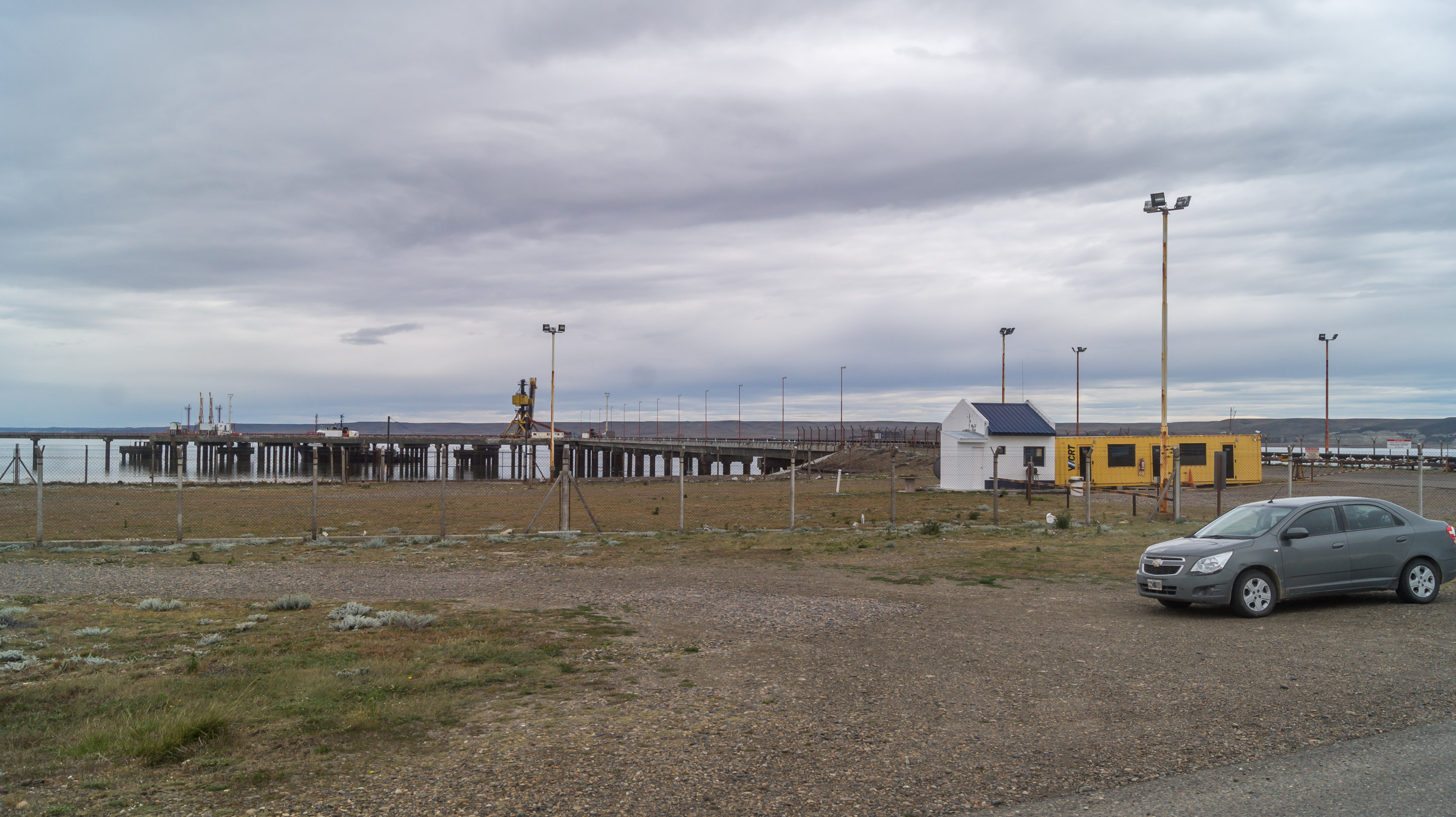 Ruta 40 new ending beginning Rio Gallegos