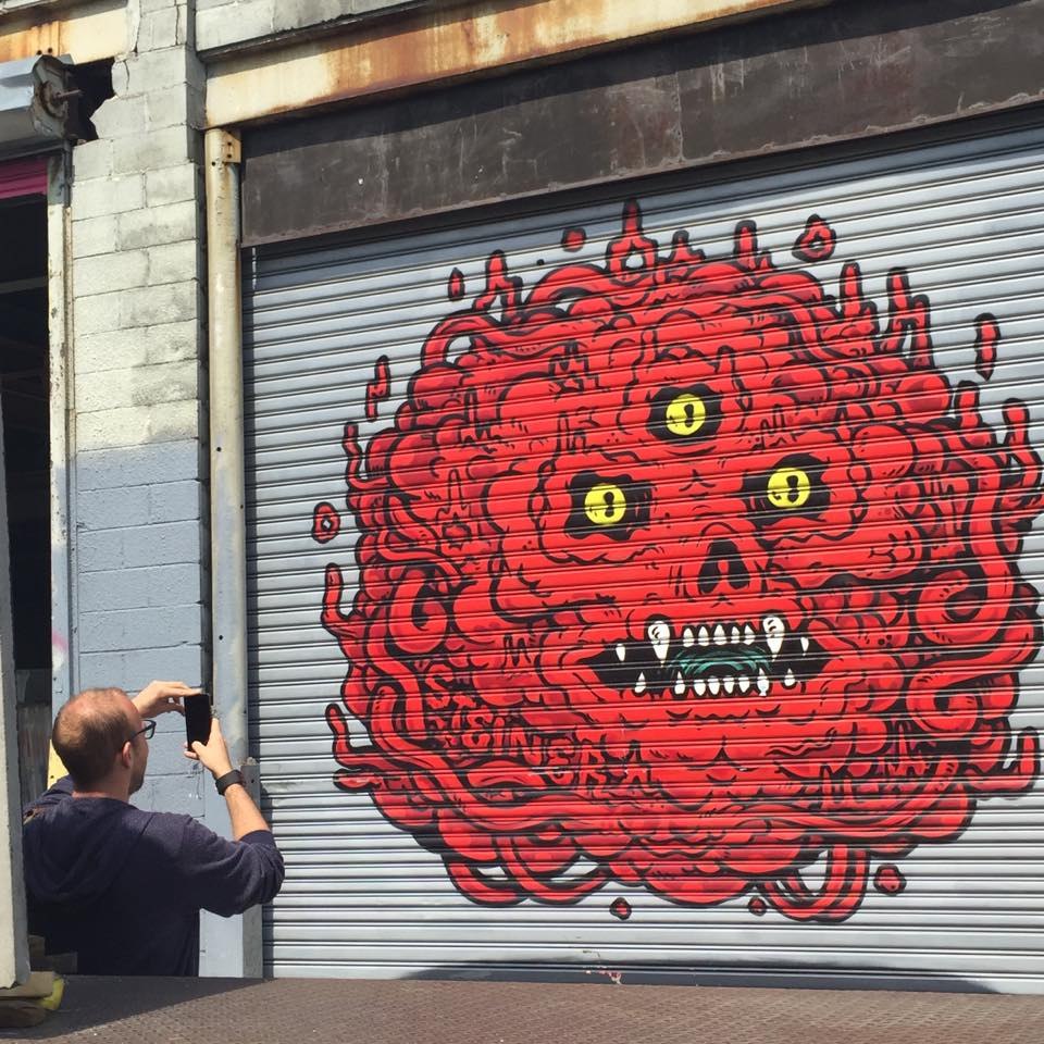 Making of NYC Street Art LGG4