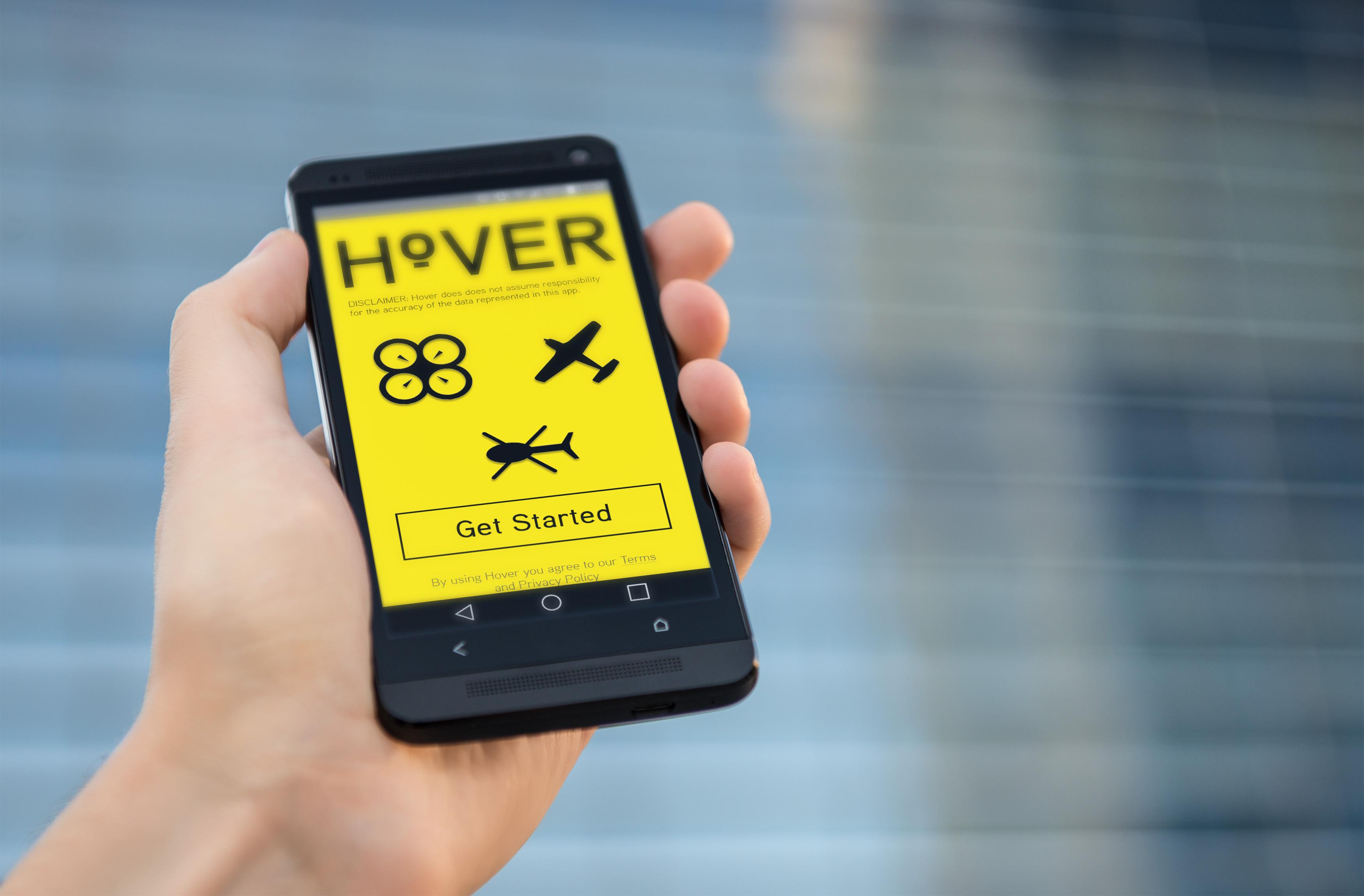 Hover - aplikacja dla pilotów dronów